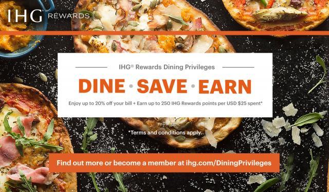 IHG Rewards Dining Privileges