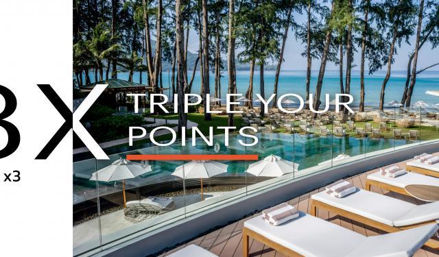 3 X Bonus Points